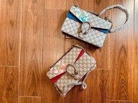 mode leder handtaschen europa großhandel-Marke aus echtem Leder Handtaschen Mode einzelne Umhängetasche Europa und die Serie mit hoher Kapazität