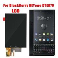böğürtlen dokunmatik ekranlı sayısallaştırıcı toptan satış-BlackBerry Keyone LCD Ekran Için 4.5 inç 1620Px1080P Dokunmatik Ekran Digitizer Meclisi Değiştirme