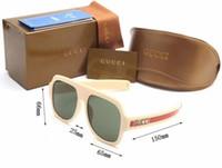belles lunettes de soleil pour les femmes achat en gros de-Nouvelle marque 0255 lunettes de soleil de mode pour hommes femmes de luxe belle qualité lunettes de soleil rétro lunettes de soleil dames Designer Sun Glass livraison gratuite