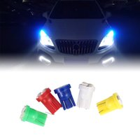 Wholesale 2825 bulb red online - T10 W5W SMD LED Wedge Dashboard Gauge Cluster Light Bulb Wedge Tail bulb dropshipping