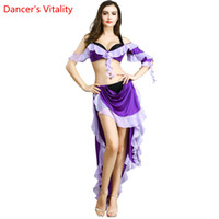 Wholesale new arrival costumes belly dance for sale - 2019 New Arrival belly dance costume set high quality belly dance wear Sexy costume bra skirt