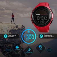Wholesale solar luxury watch for sale - Group buy Skmei Sport Watch Men Digital Watches Outdoor Pedometer Calorie Solar Power Waterproof Luxury Men s Watch Relogio Masculino MX190716