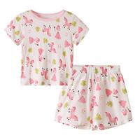 frosch baby kleidung großhandel-Neugeborene Mädchen Kleidung Set Cartoon Mädchen Frosch Gedruckt T-Shirt Shorts Sommer Baby Mädchen Designer Kleidung 1-4 T