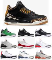 sapatos sapatos korea venda por atacado-Sapatos New 3 Animal Instinct Tinker Branco Cimento JTH Basquetebol Homens 3s Oregon Duck Mudar remendo Seul Coreia do Chicago Sneakers com caixa