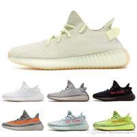 tren c al por mayor-2019 Nuevo Kanye West 350 V2 Zapatos Hombre Mujer 350 Zapatillas de running Estático True Form Beluga 2.0 Zapatillas deportivas de entrenamiento EUR 36-46
