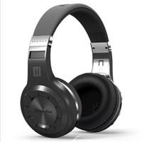 ingrosso lettore mp3 bass eccellente-Bluedio H + Bluetooth Cuffie stereo senza fili Super Bass Music Lettore Mp3 Cuffie con microfono FM BT5.0 cuffie per auto