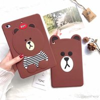 Wholesale apple tablets shipped china for sale – best New For iPad Case Cartoon BEARS Tablet PC Protective Cover Soft Silicone Back Cover For Pad Pro mini Shell Cases