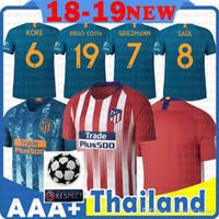 a8b7e40b3a355 Venta al por mayor de Camisetas De Atletico Madrid - Comprar ...