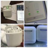 батареи bluetooth оптовых-SuperCopy точный размер не реальный всплывающее окно AirPods Можно использовать оба уха только Bluetooth 5.0 наушников логотип серийный номер написания Siri Touch зарядки