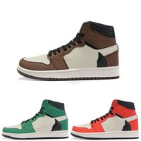 Wholesale scott cycling tops for sale - Group buy Travis Scott s High OG TS SP Brown Dark Mocha Men Top Quality Basketball Shoes Sneakers Sports Designer Trainers size