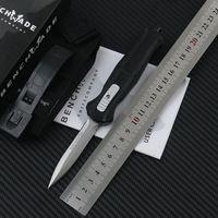 facas táticas de bancada venda por atacado-Benchmade Mini 3300 combate tático faca 3350 D2 facas de bolso de aço EDC com faca de nylon ao ar livre faca de campo faca de sobrevivência