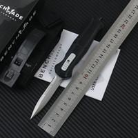 ingrosso coltello mini tasca di edc-Coltello tattico da combattimento Benchmade Mini 3300 da combattimento Coltelli tascabili EDC in acciaio D 3350 con coltello in nylon per coltelli da campo