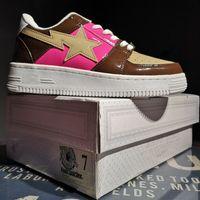 womans shoe großhandel-Heißer Verkauf- (mit Kasten) freies Verschiffen Footsoldier BAPESTA beschuht hohe Qualität Mans Womans Casual Schuhe
