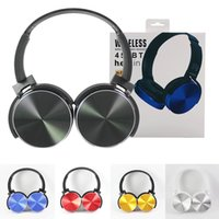 geri çekilebilir iphone kulaklıklar toptan satış-450BT Kablosuz Kulaklık Bluetooth Kulaklık Müzik Çalar Geri Çekilebilir Kafa Surround Stereo Kulaklık PC Smartphone MP3 için Mic ile ...