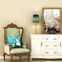 Wholesale light house 3d for sale - Group buy Elegant pearlescent light back D solid embossed wallpaper European style all match home decor walls renovate household wallpaper roll