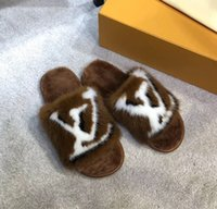 ingrosso hotel leggeri-Molle delle donne delle limited edition capelli pieni di visone casa e Hotel pantofole Luce e suole confortevoli e pantofole in pelliccia di cuoio caldo