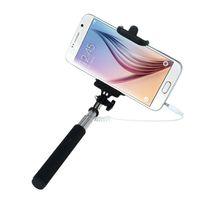 selbststichhalter großhandel-Mini Selfie Stick Erweiterbar Falten Selbstporträt Stick Halter Einbeinstativ für iPhone Samsung Xiaomi Jul14 Professionelle Drop Shipping