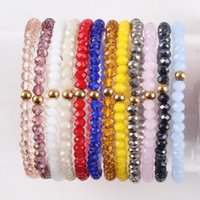 Wholesale rubies stones beads for sale - Group buy Fashion New Natural Stone Beaded Bracelets for Women Adjustable Multi Color Miyuki Beads Jewelry Rope Chain Bracelet Gift