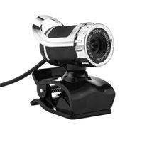 высококачественные микрофоны оптовых-High quality 360 Degree USB 12M HD Webcam Web Cam Clip-on Digital Camcorder with MIC Microphone for Laptop PC Computer#ZS