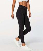 meninas, correndo, calças venda por atacado-Fitness Wear Meninas Marca Correndo Leggings Atlético Calças Mulheres Yoga Outfits Senhoras Sports completa Leggings Ladies Calças Exercício