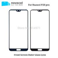 pantalla táctil lumia 625 al por mayor-Reemplazo de las piezas de la pantalla LCD de Novecel para la lente de cristal P20 de la pantalla externa delantera de Huawei P20 Pro LCD