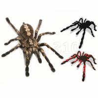 gerçek çıkartmalar toptan satış-3-D Karikatür Örümcek Araba için Kağıt Yapıştırma Gerçek Örümcek Örümcek Modifikasyon araba Çıkartmaları için Kağıt Çıkartmalar Kağıt Örümcek Pencere Çıkartmalar 4771