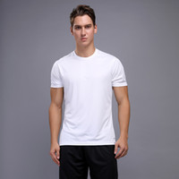 Wholesale tight compression shirts resale online - Fashion Solid Color T Shirt Men s Compression Short Sleeve Tight Training Men s T Shirt Running Quick drying Gym Tops