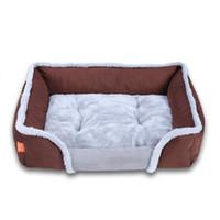 Wholesale warm mat resale online - Soft Dog Beds Pet Cats Dogs Warming Sofa Cushion Mat Bed Pet Supplies Dropshipping