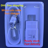Wholesale universal travel adapter usb charger online – Fast Usb Charger V A Wall Charger Travel Charger Power Adapter with m Fast Charging Usb Date Cable