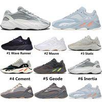 zement grau großhandel-adidas yeezy boost Inertia 700 Cement V2 Geode Wave Runner Vanta Static Kanye West Mauve OG Solid Grey Designer Herren Damen Laufschuhe Sportschuhe 36-46