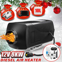 Wholesale car bus truck for sale - Group buy 12V KW Car Diesels Air Parking Heater Car Heater LCD Remote Control Monitor Switch Tube for Trucks Bus Trailer Kit