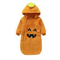 Wholesale infants beds resale online - 2019 new Halloween newborn Sleeping Bags cute Baby Sleeping Bags infant Nursery Bedding baby sleeping bag Jumpsuit Baby Onesies retail A8701