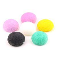 Wholesale konjac sponge wash face resale online - Newest Pure Natural Konjac Face Cleansing Tools Discharge Makeup Sponge Cleansing face Makeup Tools Wash Facial Puff Tools R0051
