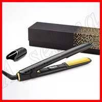 Wholesale classic tools for sale - Group buy Famous V Gold Max Hair Straightener Classic Professional styler Fast Hair Straighteners Iron Hair Styling tool flat iron