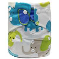 Wholesale new washable baby diapers resale online - New Cheapest Cloth Baby Diapers Reusable Infant Cloth Nappy Washable Diaper