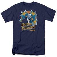голая печать оптовых-2019 распечатать новый летний хлопок смешные футболки с короткими рукавами голый пистолет его Enrico Pallazzo мужская футболка обычного покроя