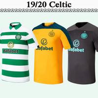camisas novas para homens venda por atacado-19 20 Celtic FORREST GRIFFITHS Casa Fora goleiro Mens Futebol New MCGREGOR SINCLAIR BROWN Rogic CHRISTIE camisas do futebol Uniforme