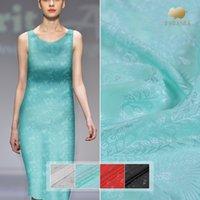 fleurs en tissu fait main en soie achat en gros de-111cm coupe fleur tissu de soie 20mm robe personnalisée chemise à la main bricolage tissu de soie jacquard matériel en gros tissu
