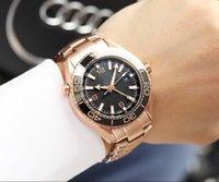 очень часы оптовых-Розовое золото очень довольны качеством дата автоматическая керамическая высокое качество мода из нержавеющей стали новый мужские часы Наручные часы мужские часы