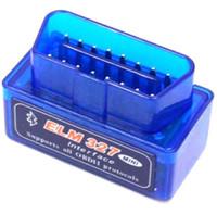 obd adaptateur peugeot achat en gros de-Mini V2.1 ELM 327 OBD2 Elm327 Bluetooth Lecteur de cordon Adaptateur Outil de numérisation Elm-327 Scanner de diagnostic de voiture OBD 2 II Outil de diagnostic automatique