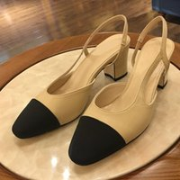 567f850de6bc4 Wholesale kitten heel sandal size online - Hot Womens Sandals Luxury Designer  Shoes sandals Leather High