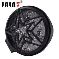 set şarabı toptan satış-JALN7 12 V Araba LED İş Işık Bar 28 W Motosiklet Bisiklet Sis DRL Far 3200Lm Yüksek Düşük Işın Spot 6500 K Beyaz Far 24 V