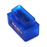 kablosuz otomatik çoğaltıcı toptan satış-Obd2 Teşhis aracı ve tarayıcı tanı tarayıcı kod okuyucu ELM327 Bluetooth arayüzü OBD2 Tarayıcı ELM 327 araç arıza detektörü