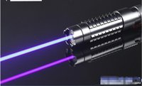 ingrosso luci laser lazer-AAA Militari più potenti 500000m 450nm Puntatori laser blu luce Torcia elettrica malvagia LAZER Torch Hunting Camping Signal Lamp