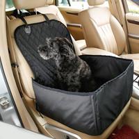 Wholesale safest car seats resale online - Pet Dog Breathable Mesh Carrier Pad Waterproof Dog Seat Bag Basket Foldable Safe Carry House Cat Puppy Bag Travel Car Seat