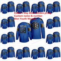 Wholesale boston hockey jerseys resale online - Boston Bruins Father s Day Black Golden jersey David Pastrnak Bobby Orr Zdeno Chara Patrice Tuukka Rask Marchand Hockey Jerseys