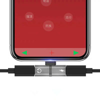 adaptateur prise jack achat en gros de-Adaptateur répartiteur de charge pour casque double prise 2 en 1 pour Iphone X XR XS Max 8 Plus 10 11 Chargeur Adaptateur audio Adaptateur USB