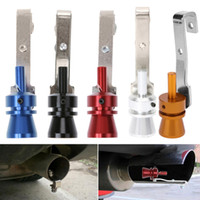 Wholesale fake blow off valve sounds for sale - Group buy Universal Car Turbo Sound Whistle Exhaust Muffler Pipe mm Fake Blow off Valve BOV Simulator Whistler Auto Accessorie