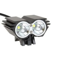 Wholesale x2 light for sale - Group buy X2 USB Genuine Bright Light Owl Bicycle Headlight Glare T6 Outdoor Professional Bicycle LED Headlamp