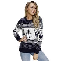 Reindeer Christmas Sweaters Women Canada